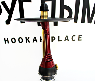 Кальян Alpha Hookah Model S Red Candy Красный Лак