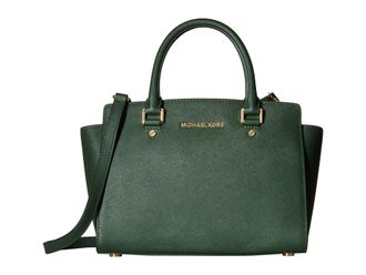 Сумка Michael Kors Selma Large (зелёная)