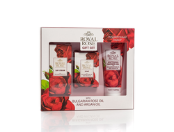 Подарочный набор BULGARIAN ROSE OIL AND ARGAN OIL