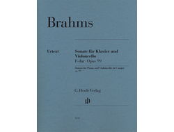 Brahms Violoncello Sonata F major op. 99