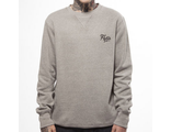 Свитшот Fly53 Volli Pattern Crew Neck Sweatshirt Серый