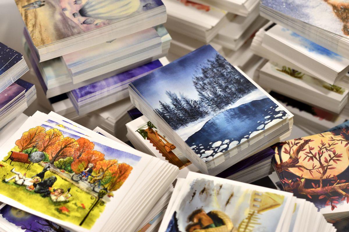 магазины авторских открыток наш