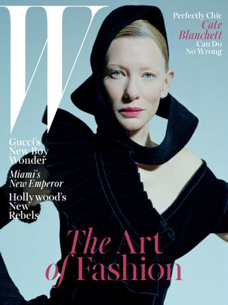 W magazine January 2016 Cate Blanchett Cover ИНОСТРАННЫЕ ЖУРНАЛЫ PHOTO FASHION