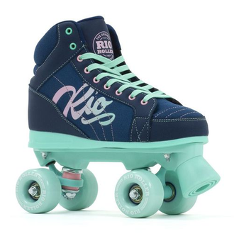 Rio Roller - Lumina Navy/Green (UK 5)