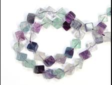 Бусины Флюорит, куб 6*6 мм (1 шт) №19598