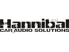 Наклейка на авто Hannibal car audio solutions