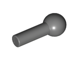 Bar   1L with Tow Ball, Dark Bluish Gray (22484 / 6158469 / 6364352)