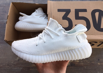 Кроссовки Adidas Yeezy Boost 350 V2 Triple White