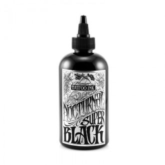 """Super Black"" - Nocturnal Tattoo Ink (США 2 OZ- 60 мл.)"