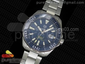 Aquaracer Calibre 5 Blue Swiss Sellita SW200
