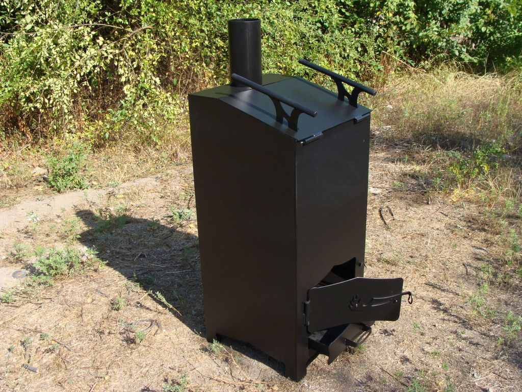Печь для сжигания мусора Хозяин 2