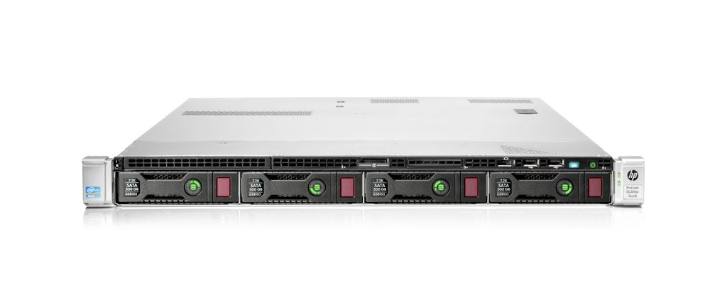 HP DL360p G8 Xeon E5-2630 v2 32GB 10600R RAM No-HDD 2x-460wPSU