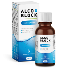Alco Block biologically active dietary supplement