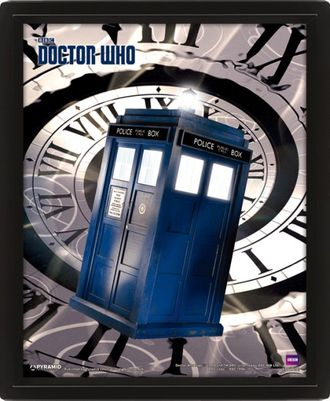 Купить 3D картину Doctor Who: Tardis Time Spiral Доктор Кто