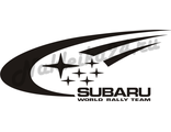 Наклейка Subaru world rally team