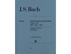 Bach Sonatas and Partitas BWV 1001-1006 for Violin solo