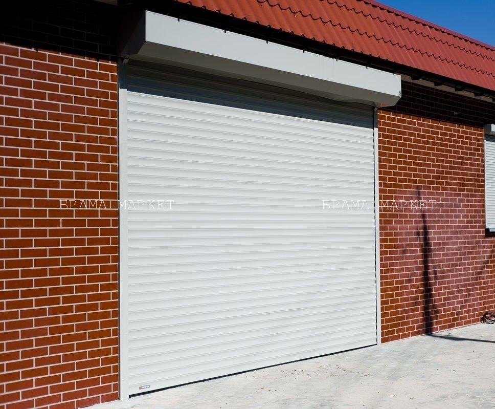 delaem zamer vorot na garazh - teplyie garazhnyie vorota