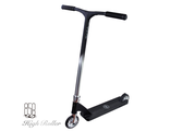 Самокат Ride858 High Roller Pro MATTE BLACK & SILVER