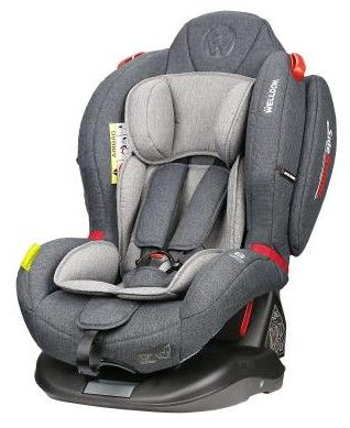 Welldon Royal Baby Dual Fit Isofix Grey