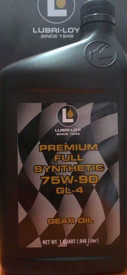 Lubri-Loy Premium Full Synthetic 75W90 GL-4 (946 мл)