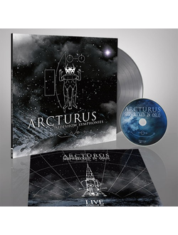 ARCTURUS - SIDESHOW SYMPHONIES LP Silver+DVD