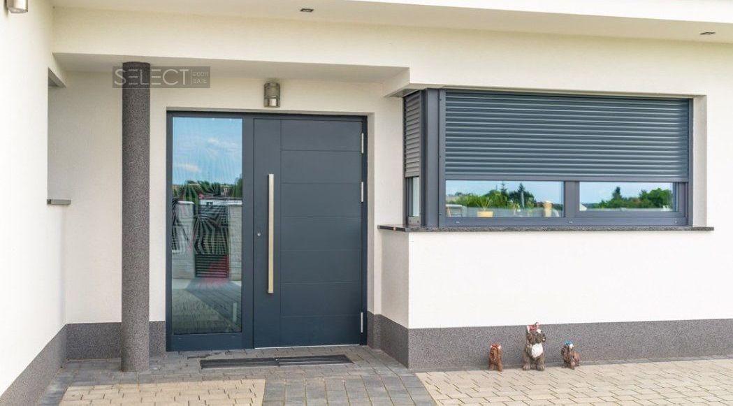 европейские двери с терморазрывом для дома - установка - гарантия