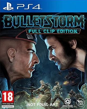 Игра для ps4 Bulletstorm: Full Clip edition