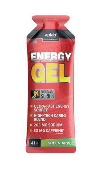 (VP Laboratory) Energy Gel + caffeine - (41 гр)