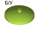 ! Б/У - Dish 4 x 4 Inverted Radar with Solid Stud, Lime (3960 / 4538118) - Б/У