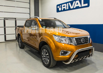 Пороги на Nissan Navara (2015-...) Black Start