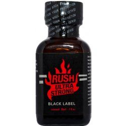Rush ultra strong black label 30 ml попперс