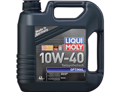 Моторное маслоLIQUI MOLY OPTIMAL 10W-40 4л