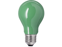 Narva Coloured Farbig Green AGL 25w 230v E27