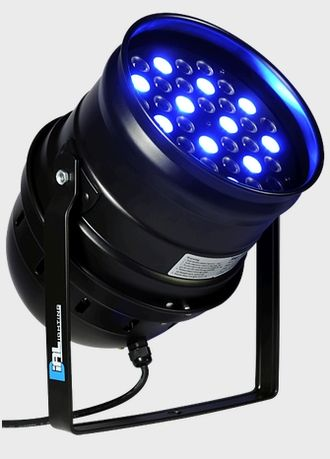 DIALighting LED Par 64-3W-30°