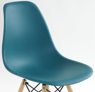 Стул N-12 WoodMold Eames style  малахит