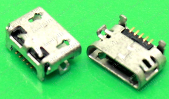 Разъем зарядки microUSB № 36 Huawei Mediapad 10, Y541-U02, Dell Venue 8, T02D, Fly E141TV (MC-235)
