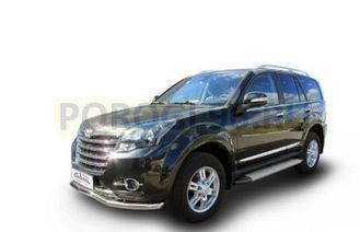 Пороги на Great Wall Hover H3 (2010-2014-...) Optima Silver