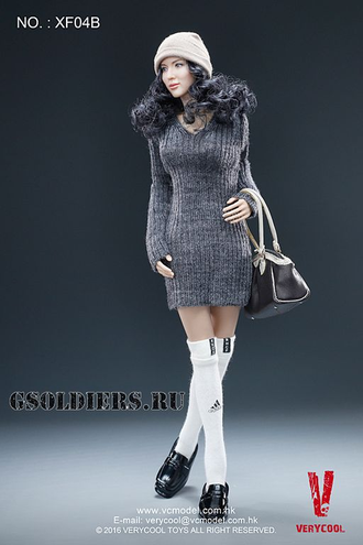 Тело (телоид) 1/6  Asian  Headsculpt + VC 3.0 Female Body FX04 - VERYCOOL