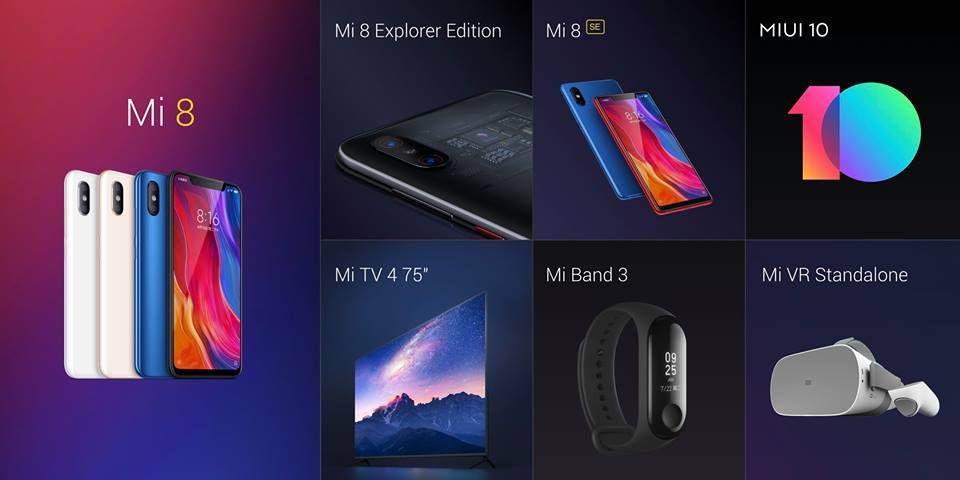 Предзаказ Xiaomi Mi 8