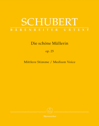 Schubert Die sch?ne M?llerin op. 25 D 795 (Medium Voice)