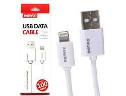 USB кабель Remax для Apple iPhone 5/5C/5S/6/6S/7  White