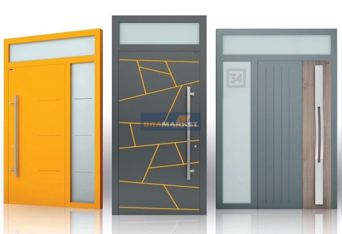 заказать входные двери-теплый алюминий-Днепр качественные входные двери с терморазрывом-Киев