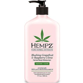 Увлажняющий лосьон для тела HEMPZ BLUSHING GRAPEFRUIT & RASPBERRY CREME HERBAL BODY MOISTURIZER