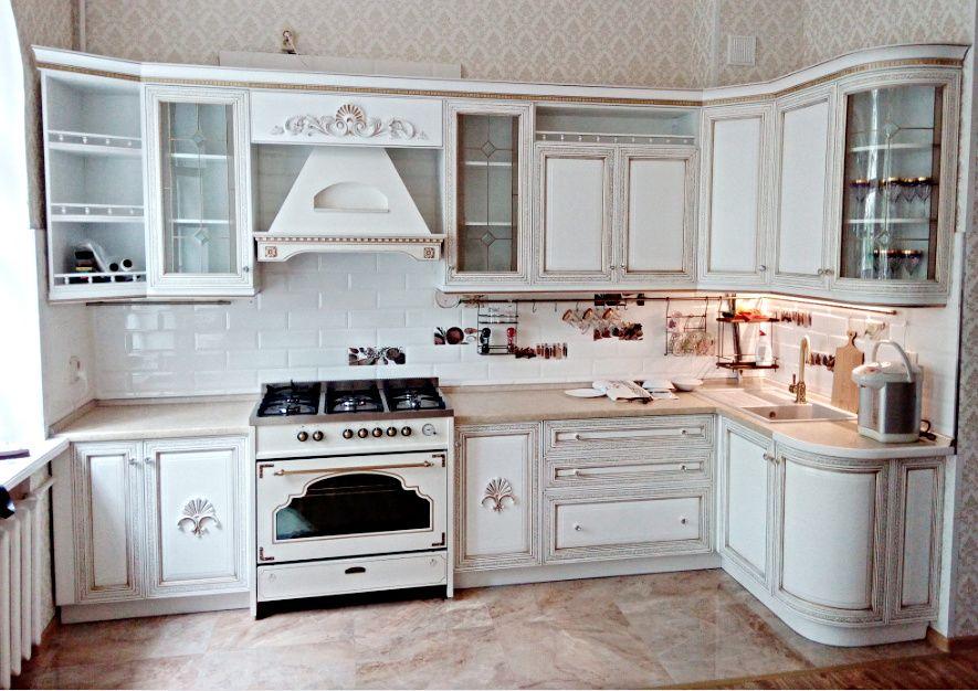 кухни из массива Грация