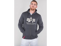 Толстовка Basic ZIP Hoody Alpha Industries Art.994