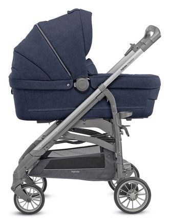 INGLESINA TRILOGY DUO IMPERIAL BLUE ШАССИ TITATIUM SLATE