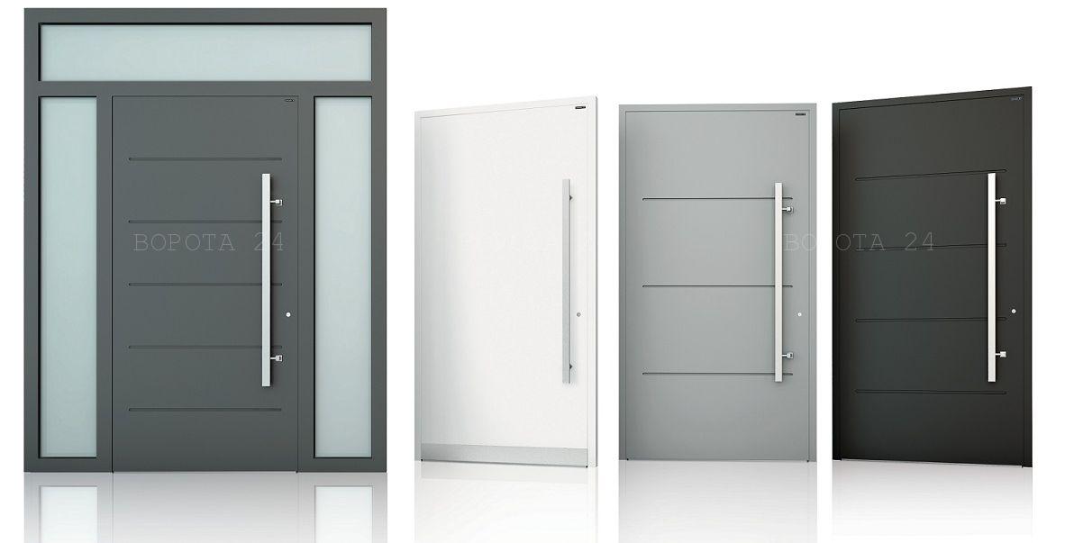 алюминиевые входные двери с терморозрывом - купить