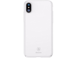 Baseus Thin Case iPhone X - белый