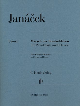 Janacek March of the Bluebirds for Piccolo and Piano