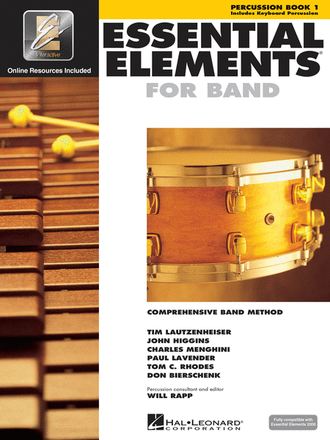 Essential Elements for Band - Percussion/Keyboard Percussion Book 2